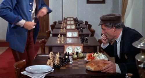 chess schach Mel Brooks Twelve Chairs